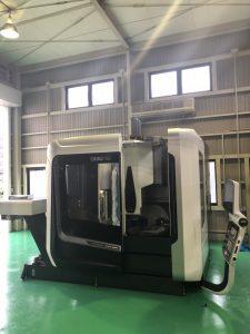 アオキニック5軸加工機